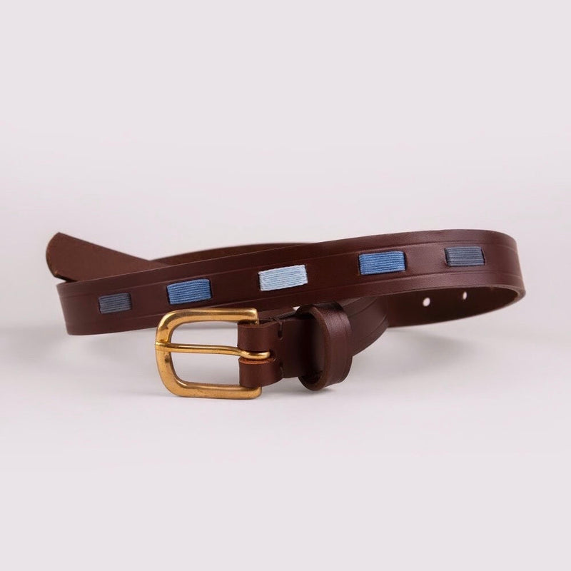 Children's Polo Belt- Blue