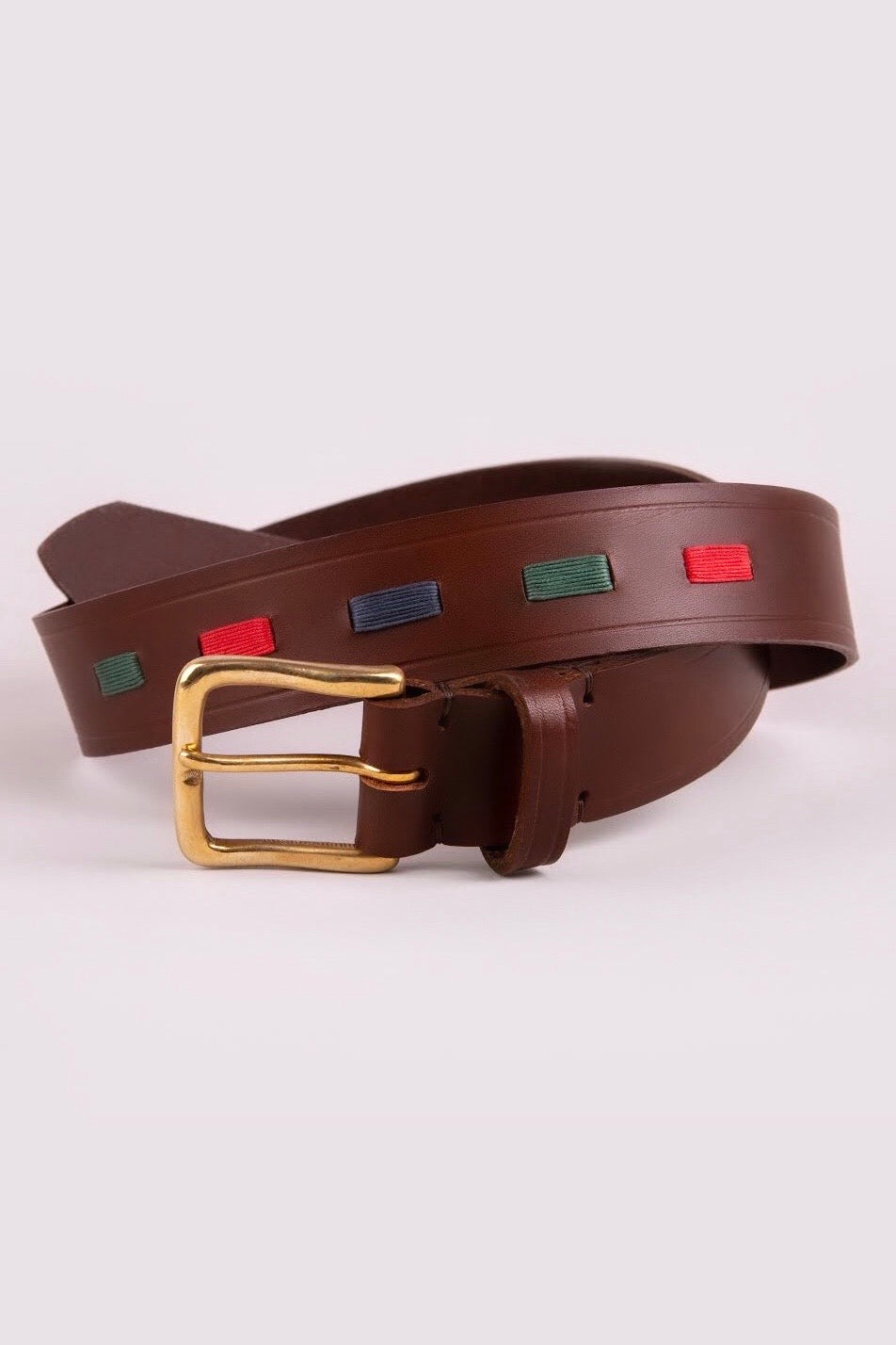 Men's Polo Belt- Cheltenham Green