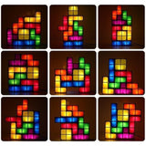 Tetris Puzzle Light Lamp