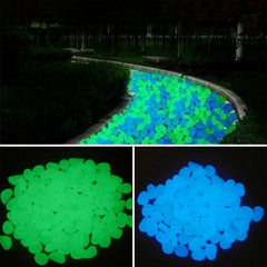 Garden/Aquarium Decorative Glow in the Dark Stone 10pcs/set