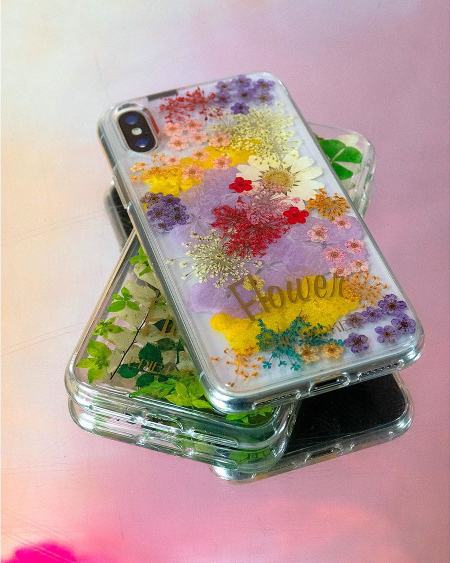 Phone Case in Pressed Flower