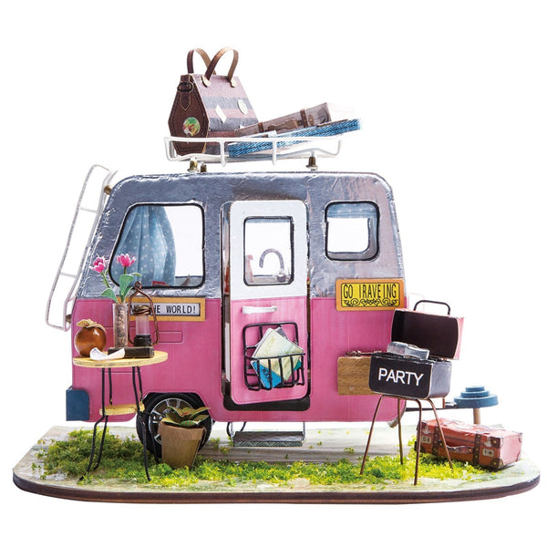 Imagine 3D DIY House Model Kit Caravan