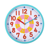 Home Fair Childrens Clock Learn To Tell The Time 12 Inch