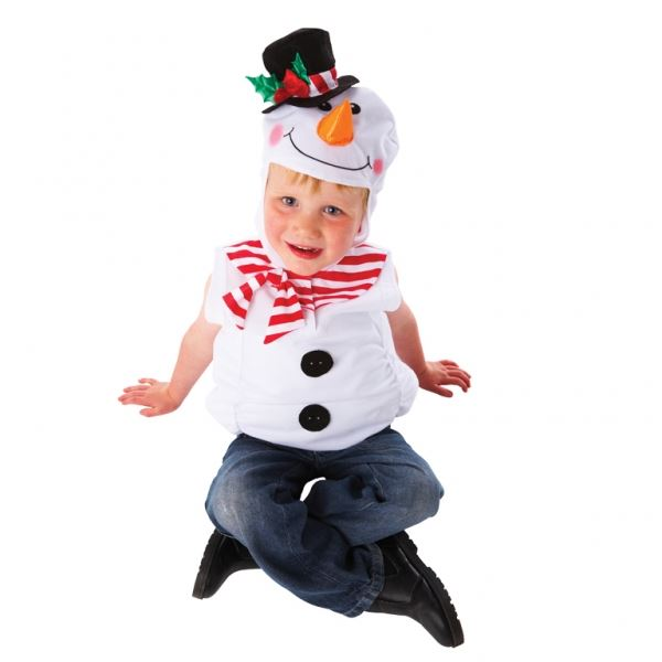 Amscan Snowman Costume 3-5 Years