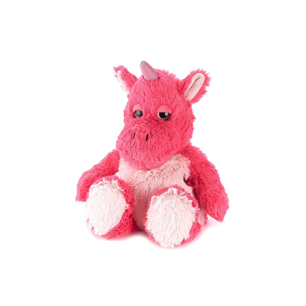 Warmies Plush Unicorn Bright Pink