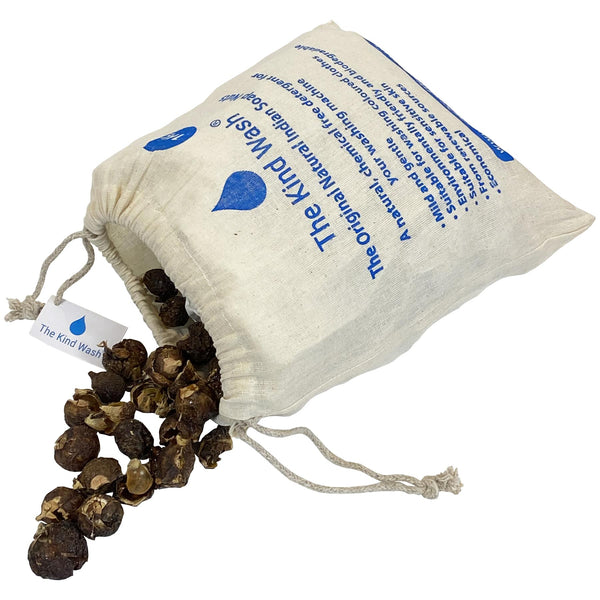 *The Kind Wash Indian Soap Nuts Natural Washing Detergent 1kg + Wash Bags