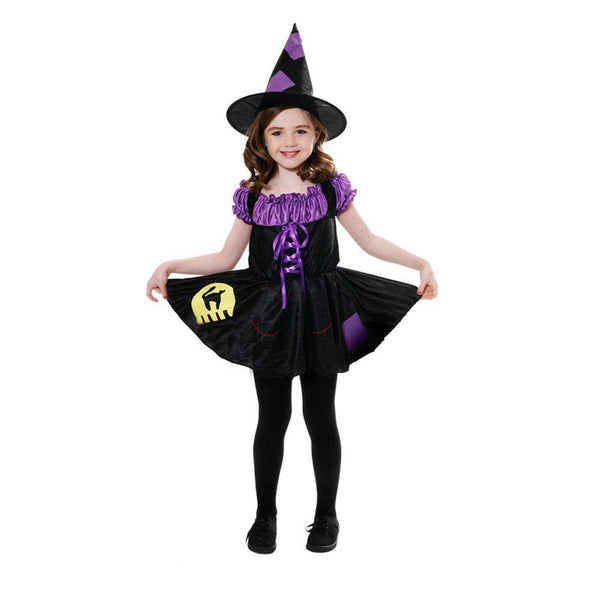 Henbrandt Witch Cat Costume Costume 7-9 Years