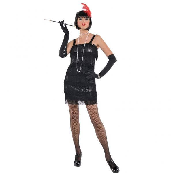 Amscan Flashy Flapper Costume Small
