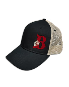 "Button ""B"" Cap"