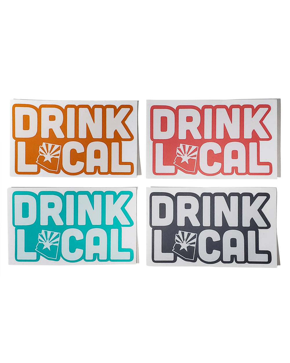 Drink Local Stickers