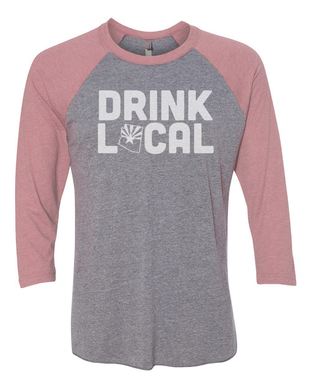 Drink Local (BASEBALL TEE)