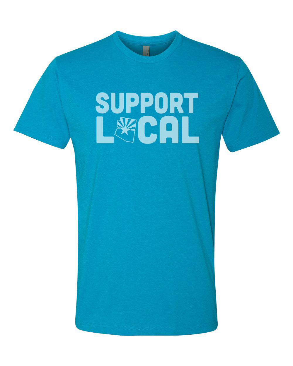 Support Local (AZ PRIDE TURQUOISE)