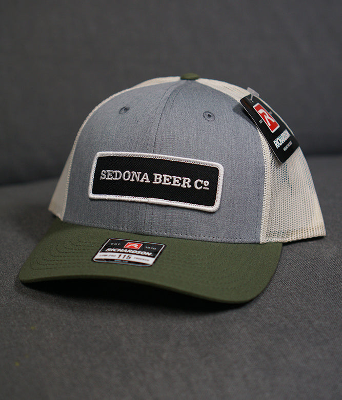 SBC Rectangle Patch Hat (H.Grey/Birch/Army)