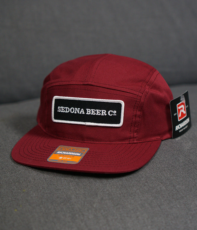 SBC Rectangle Patch Hat (Berry)