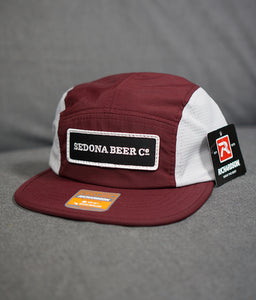 SBC Rectangle Patch Hat (Maroon-Glacier Grey)
