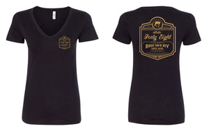 Surprise Brewery Logo (LADIES V-NECK)