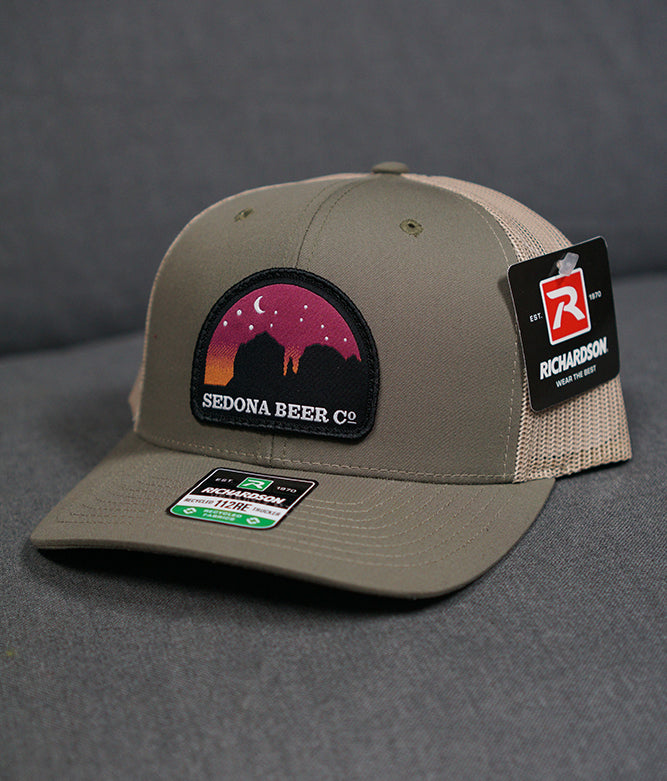 Sunset Arch Patch Hat (Loden/Khaki)