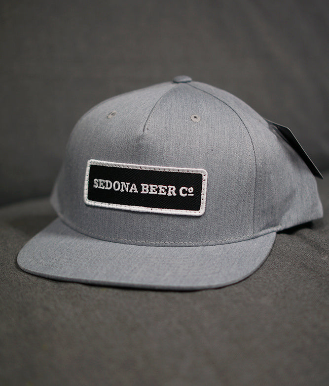 SBC Rectangle Patch Hat (Heather Grey)