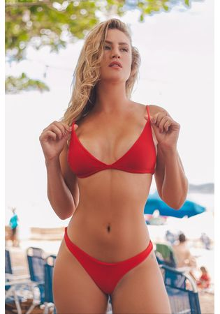 Bikini Aviator Kim Red