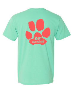 (Vibrant) Adopt your SoulMutt with big paw print