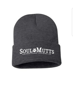 Solid Knit Beanie Hat