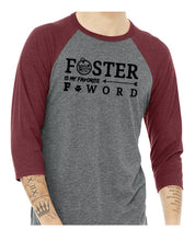 Load image into Gallery viewer, Foster Baseball 3/4 Tee