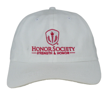 Breast Cancer Awareness Relaxed Golf Cap with Velcro