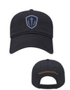 Navy Relaxed Golf Cap with Velcro