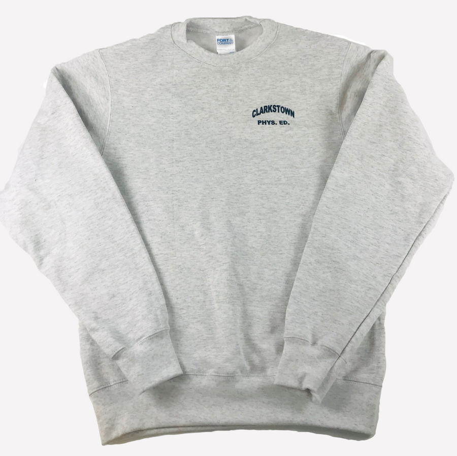 Youth Crewneck Sweatshirt-SILVER