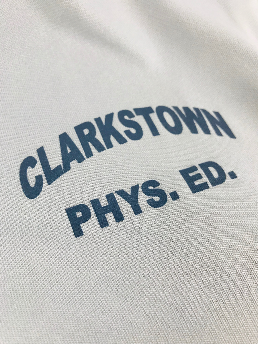 Felix Festa Clarkstown Athletic Dept Youth dri-fit material detail