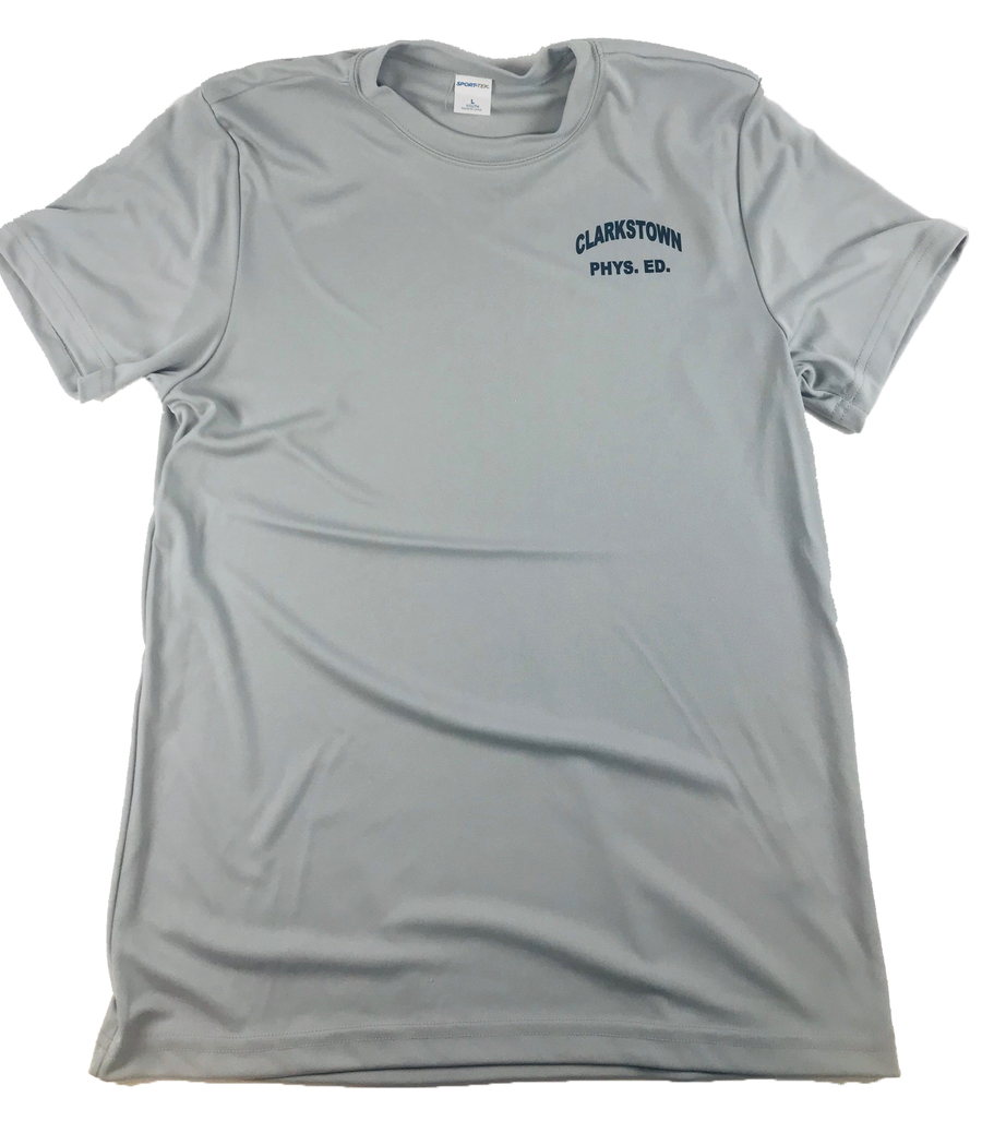 Adult Dri Fit T-Shirt-SILVER