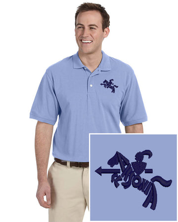 Mens Short Sleeve Easy Care Polo