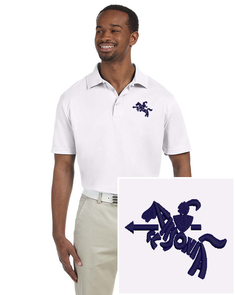Mens Short Sleeve Poly-Tech Polo