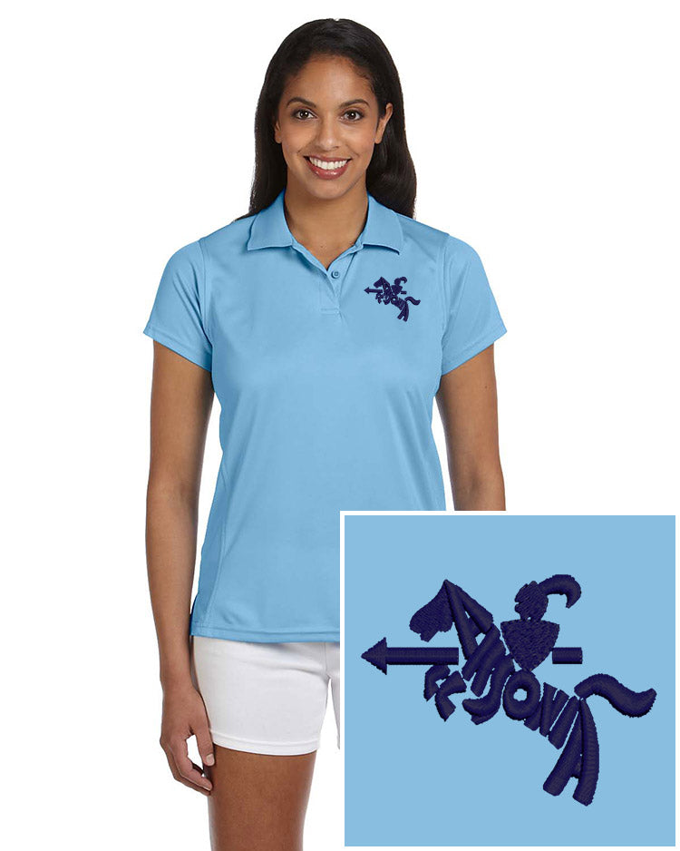 Ladies Short Sleeve Poly-Tech Polo