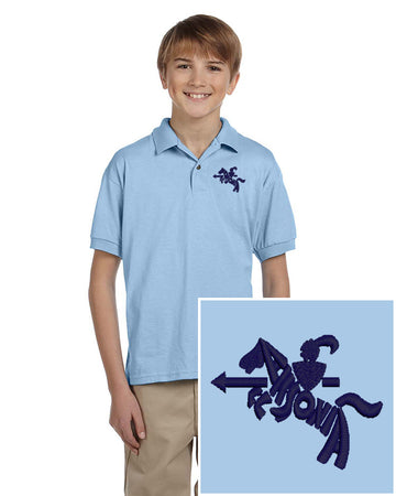 Youth Short Sleeve Easy Care Polo