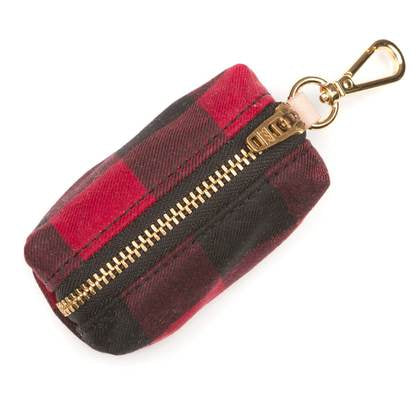 Foggy Doggy Waste Bag Holder: Buffalo Plaid