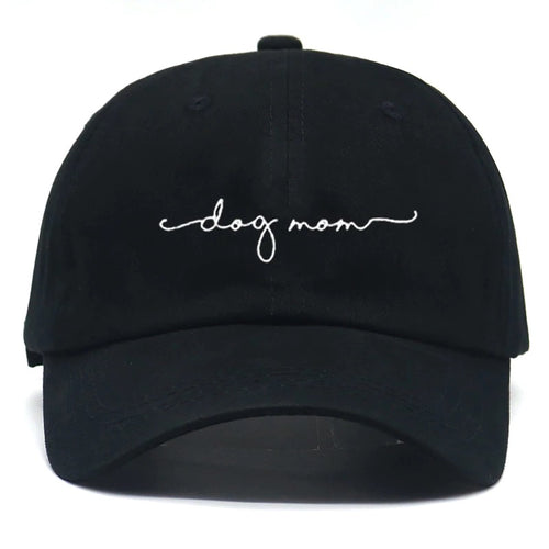 Dog Mom Hat NEW FONT