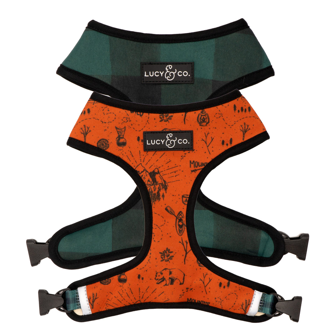 Let's Go On an Adventure Reversible Harness