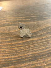 Load image into Gallery viewer, Dog Breed Enamel Pin & Keychain: West Highland Terrier