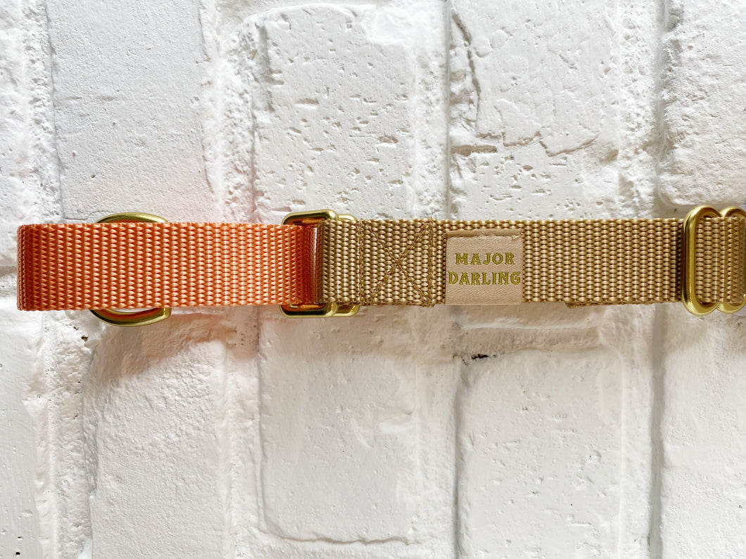 Major Darling Martingale -Peach/Gold