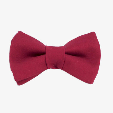 Rover Bow Tie: Burgundy
