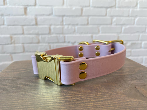 Biothane collar: DogDogGoose Pastel Purple