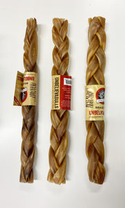 "Unbelievabulls braided 12"" chew"
