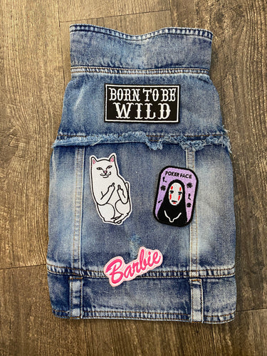 Denim Jacket: Born to be Wild