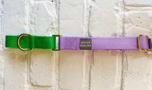 Major Darling Martingale - Lilac/Lime