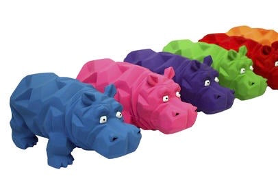 Mini Grunting Origami Hippo Toy