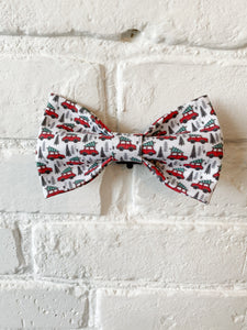 Christmas Truck Bow Tie
