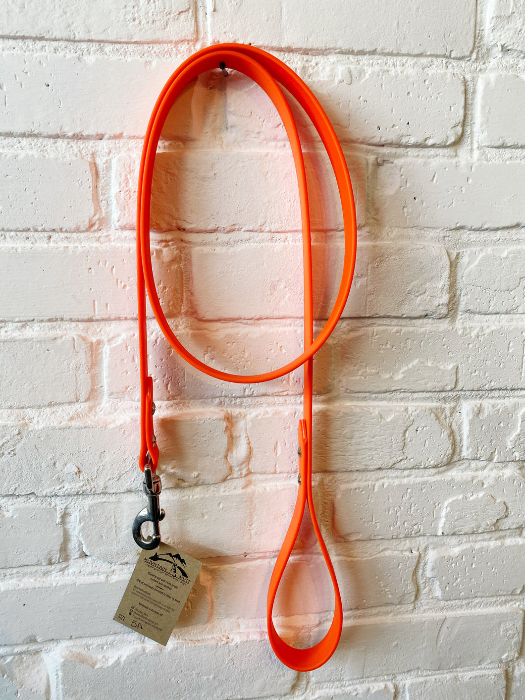 Biothane Leash: Orange