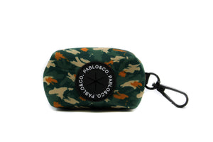 Pablo & Co Waste Bag Holder: Camo