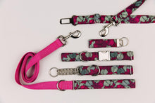 Load image into Gallery viewer, Walk in the Bark Collar: Burgundy Magnolia